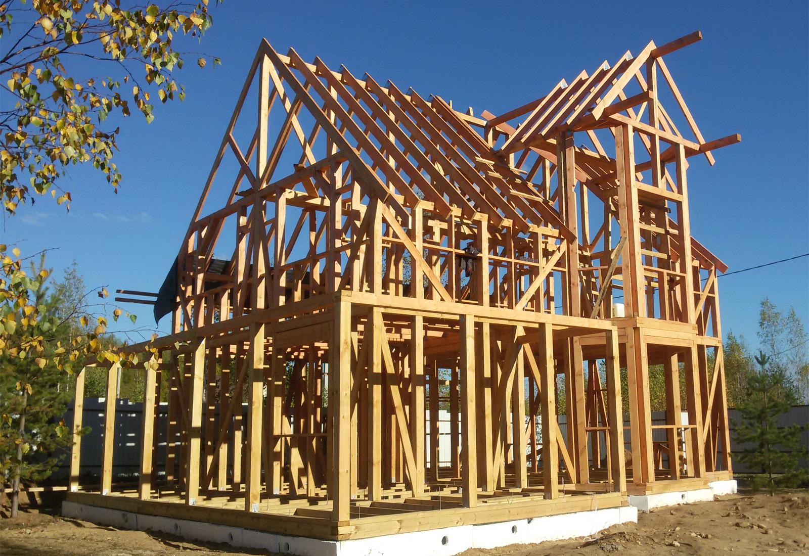 фото конструкция каркасных домов сможете создать