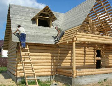 Строительство дома из бревна: основные нюансы